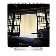 Evening Fight - 700070 Shower Curtain