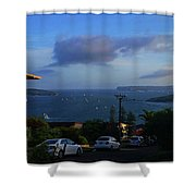 Evening For Sailing Shower Curtain