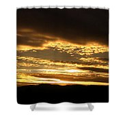 Evening Grandeur Shower Curtain