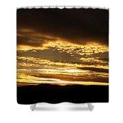 Evening Grandeur Shower Curtain