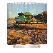 Evening Harvest Shower Curtain