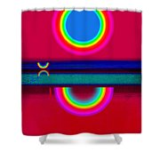 Evening Heat Shower Curtain