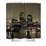 Evening In Boston Shower Curtain
