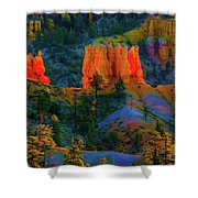 Evening In Bryce Canyon Shower Curtain