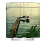 Evening In Charlotte Shower Curtain