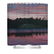 Evening In La Cloche Shower Curtain