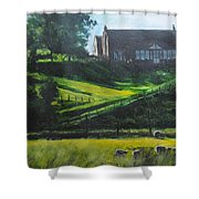Evening In North Wales Shower Curtain