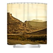 Evening In The Canyon Shower Curtain