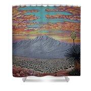 Evening In The Desert Shower Curtain