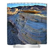 Evening In Valley Of Fire State Park Shower Curtain