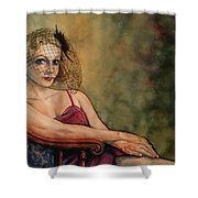 Evening Interlude Shower Curtain
