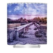 Evening Invitation Shower Curtain