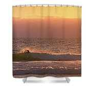 Evening Layers Shower Curtain