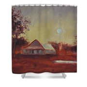 Evening Light Shower Curtain