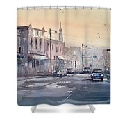 Evening Light In Appleton Shower Curtain