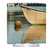Evening Light On Pipit Shower Curtain