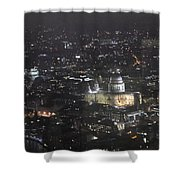 Evening London Shower Curtain