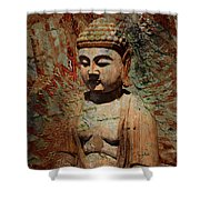 Evening Meditation Shower Curtain