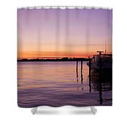 Evening Of Peace - Jersey Shore Shower Curtain