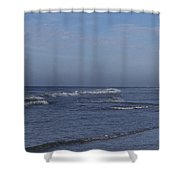 Evening On The Beach Shower Curtain