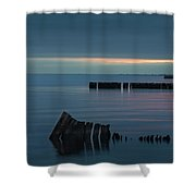 Evening On The Great South Bay Shower Curtain