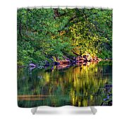 Evening On The Humber River Shower Curtain