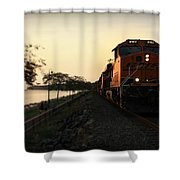 Evening Ride Shower Curtain