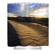 Evening Ripples Shower Curtain by Chad Dutson