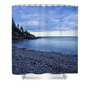 Evening Shadows Shower Curtain