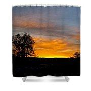 Evening Sky 2 Shower Curtain