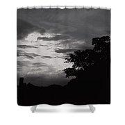 Evening Sky 3 Shower Curtain