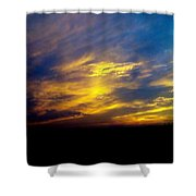 Evening Sky 5 Shower Curtain