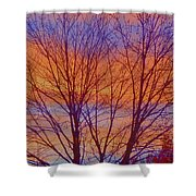 Evening Sky Shower Curtain