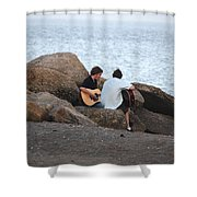 Evening Song Shower Curtain