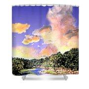 Evening Star Shower Curtain