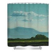 Evening Stillness Shower Curtain