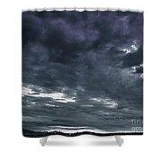 Evening Storm Shower Curtain