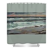 Evening Storm  Shower Curtain