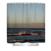 Evening Tide Shower Curtain