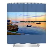 Evening Tranquility Shower Curtain