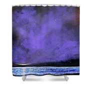 Evenings End Shower Curtain