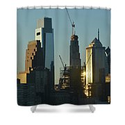 Ever Growing Philadelphia Shower Curtain
