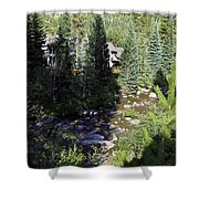 Ever Vail Shower Curtain