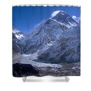 Everest Base Camp Shower Curtain