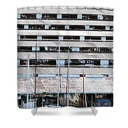 Everett Boathouse Shower Curtain
