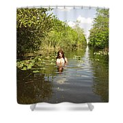 Everglades Beauty One Shower Curtain