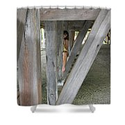 Everglades City Beauty 527 Shower Curtain