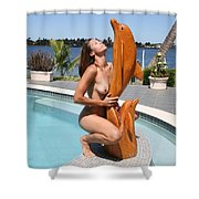Everglades City Fl. Professional Photographer 349 Shower Curtain