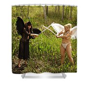 Everglades City Glamour 150 Shower Curtain
