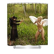 Everglades City Glamour 151 Shower Curtain
